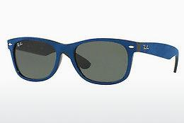 Solbriller Ray-Ban NEW WAYFARER (RB2132 6239) - Sort, Blå