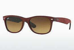 Solbriller Ray-Ban NEW WAYFARER (RB2132 624085) - Sort, Rød