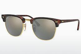 Solbriller Ray-Ban CLUBMASTER (RB3016 114530) - Brun, Havanna, Sand