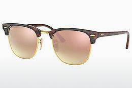 Solbriller Ray-Ban CLUBMASTER (RB3016 990/7O) - Brun, Havanna