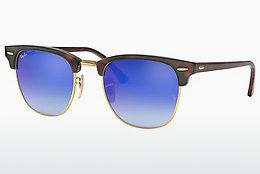 Solbriller Ray-Ban CLUBMASTER (RB3016 990/7Q) - Brun, Havanna