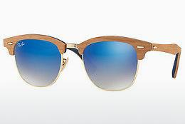 Solbriller Ray-Ban CLUBMASTER (M) (RB3016M 11807Q) - Guld
