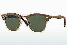 Solbriller Ray-Ban CLUBMASTER (M) (RB3016M 1181) - Brun
