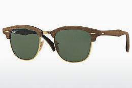 Solbriller Ray-Ban CLUBMASTER (M) (RB3016M 118158) - Sort