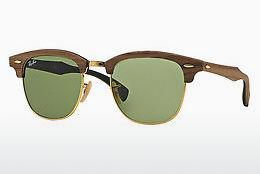 Solbriller Ray-Ban CLUBMASTER (M) (RB3016M 11824E) - Brun