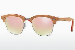 Solbriller Ray-Ban CLUBMASTER (M) (RB3016M 12197O) - Grå