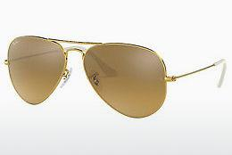Solbriller Ray-Ban AVIATOR LARGE METAL (RB3025 001/3K) - Guld