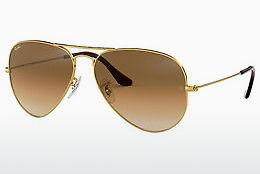 Solbriller Ray-Ban AVIATOR LARGE METAL (RB3025 001/51) - Guld