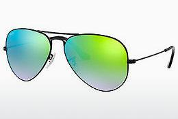 Solbriller Ray-Ban AVIATOR LARGE METAL (RB3025 002/4J) - Sort