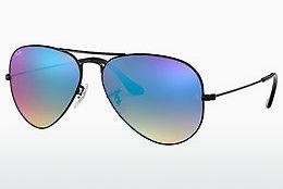 Solbriller Ray-Ban AVIATOR LARGE METAL (RB3025 002/4O) - Sort