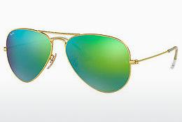 Solbriller Ray-Ban AVIATOR LARGE METAL (RB3025 112/19) - Guld