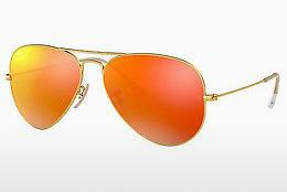 Solbriller Ray-Ban AVIATOR LARGE METAL (RB3025 112/4D) - Guld