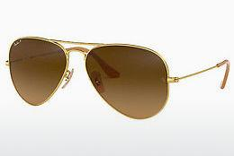 Solbriller Ray-Ban AVIATOR LARGE METAL (RB3025 112/M2) - Guld