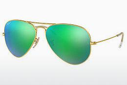 Solbriller Ray-Ban AVIATOR LARGE METAL (RB3025 112/P9) - Guld
