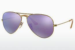 Solbriller Ray-Ban AVIATOR LARGE METAL (RB3025 167/1M) - Brun