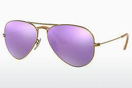 Solbriller Ray-Ban AVIATOR LARGE METAL (RB3025 167/1R) - Brun