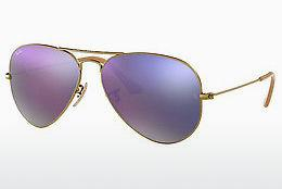 Solbriller Ray-Ban AVIATOR LARGE METAL (RB3025 167/4K) - Brun