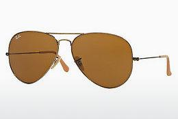 Solbriller Ray-Ban AVIATOR LARGE METAL (RB3025 177/33) - Guld