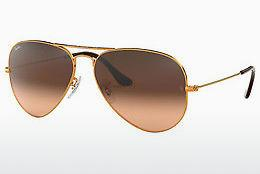 Solbriller Ray-Ban AVIATOR LARGE METAL (RB3025 9001A5) - Brun