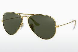Solbriller Ray-Ban AVIATOR LARGE METAL (RB3025 L0205) - Guld