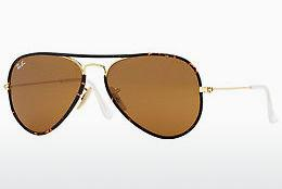 Solbriller Ray-Ban AVIATOR FULL COLOR (RB3025JM 001) - Guld