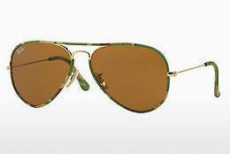 Solbriller Ray-Ban AVIATOR FULL COLOR (RB3025JM 169) - Guld