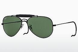 Solbriller Ray-Ban OUTDOORSMAN (RB3030 L9500) - Sort