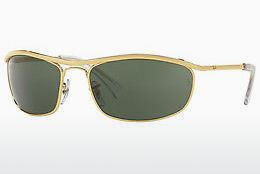 Solbriller Ray-Ban OLYMPIAN (RB3119 001) - Guld