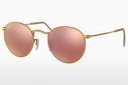 Solbriller Ray-Ban ROUND METAL (RB3447 112/Z2) - Guld