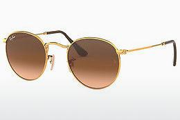 Solbriller Ray-Ban ROUND METAL (RB3447 9001A5) - Brun