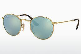 Solbriller Ray-Ban ROUND METAL (RB3447N 001/30) - Guld