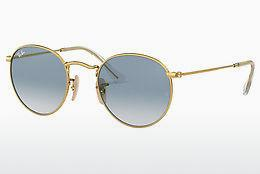 Solbriller Ray-Ban ROUND METAL (RB3447N 001/3F) - Guld