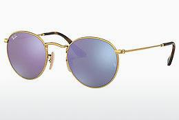 Solbriller Ray-Ban ROUND METAL (RB3447N 001/8O) - Guld