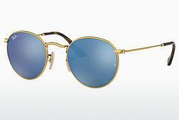 Solbriller Ray-Ban ROUND METAL (RB3447N 001/9O) - Guld