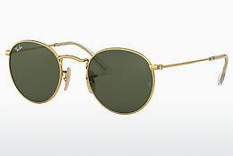 Solbriller Ray-Ban ROUND METAL (RB3447N 001) - Guld