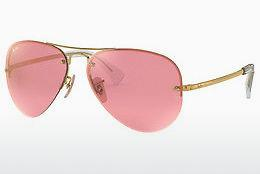 Solbriller Ray-Ban RB3449 001/E4 - Guld