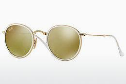 Solbriller Ray-Ban ROUND (RB3517 001/93) - Guld