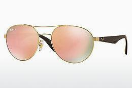 Solbriller Ray-Ban RB3536 112/2Y - Guld