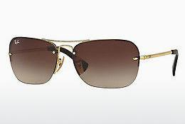 Solbriller Ray-Ban RB3541 001/13 - Guld