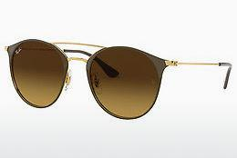 Solbriller Ray-Ban RB3546 900985 - Guld, Brun