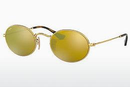 Solbriller Ray-Ban Oval (RB3547N 001/93) - Guld
