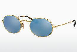 Solbriller Ray-Ban Oval (RB3547N 001/9O) - Guld