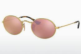 Solbriller Ray-Ban Oval (RB3547N 001/Z2) - Guld
