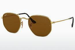 Solbriller Ray-Ban Hexagonal (RB3548N 001/57)