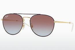 Solbriller Ray-Ban RB3589 9059I8 - Guld, Purpur