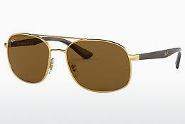 Solbriller Ray-Ban RB3593 001/83 - Guld