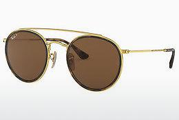 Solbriller Ray-Ban RB3647N 001/57 - Guld