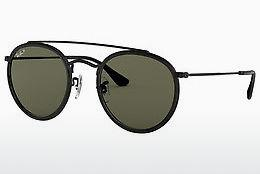 Solbriller Ray-Ban RB3647N 002/58 - Sort