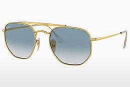 Solbriller Ray-Ban THE MARSHAL (RB3648 001/3F) - Guld