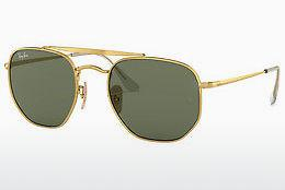 Solbriller Ray-Ban THE MARSHAL (RB3648 001) - Guld